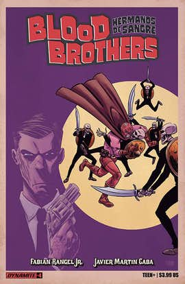 Blood Brothers #4 (Preview)