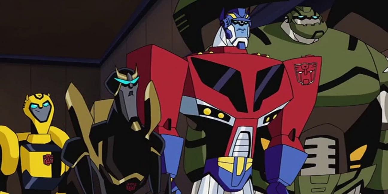 Debuting In 2007 Transformers Animated Brought The Robots Disguise Back To Television Cartoon Network Original Series