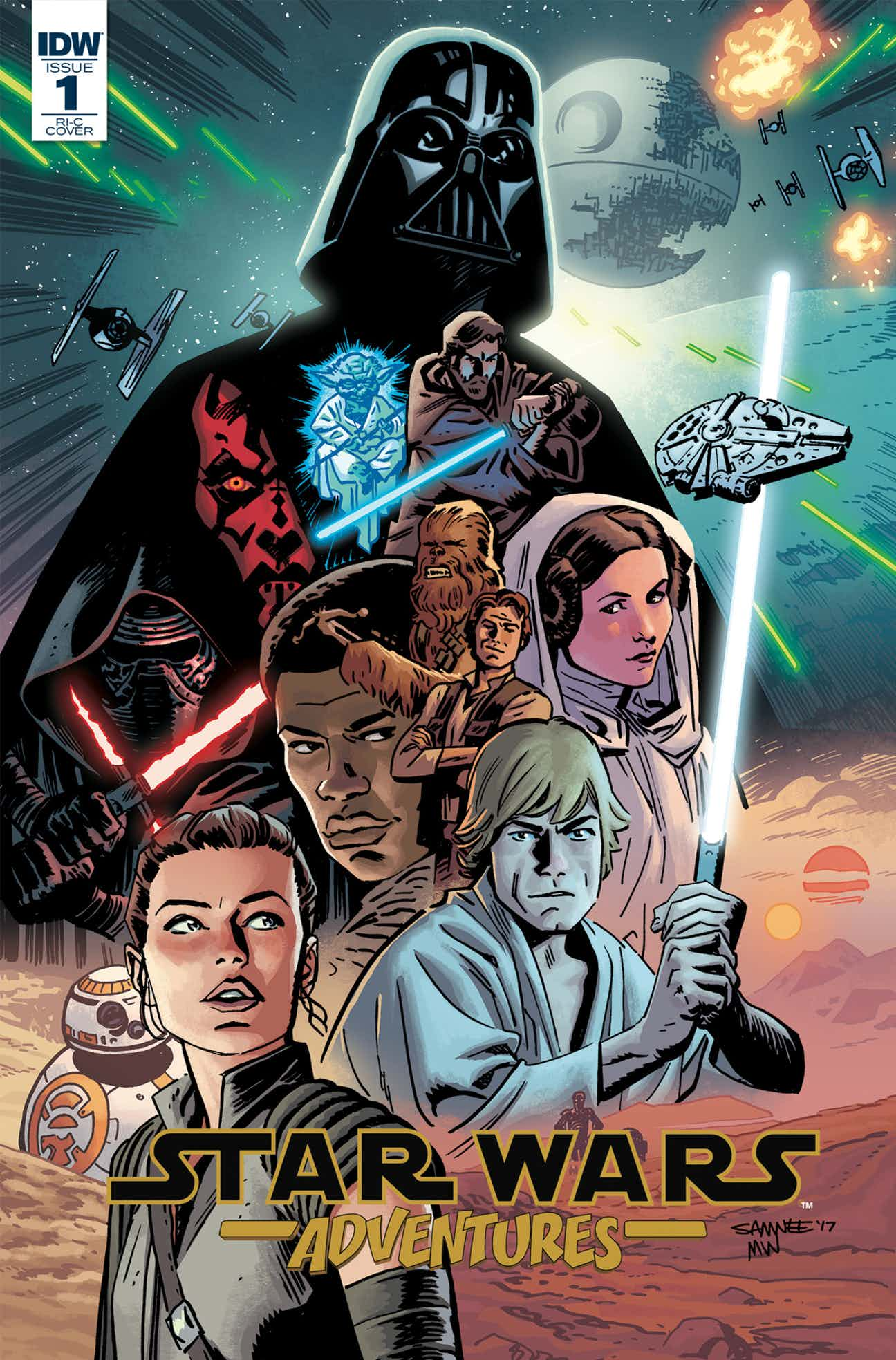 Комиксы звездные войны в картинках
