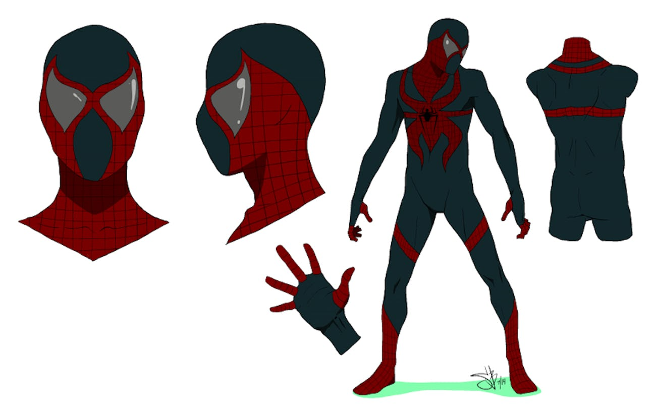 все костюмы человека паука из комиксов картинки такое ламинирова