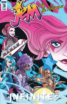 Jem and the Holograms: Infinite #3 (Preview)