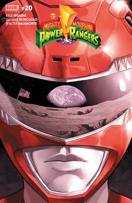 Mighty Morphin Power Rangers #20 (Preview)