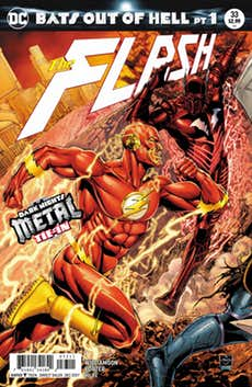 The Flash #33 Is A Critical, Must-Read Metal Tie-In