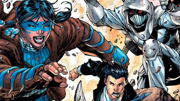 Tynion IV & Lee Reveal The Immortal Men's Dark Nights: Metal Ties