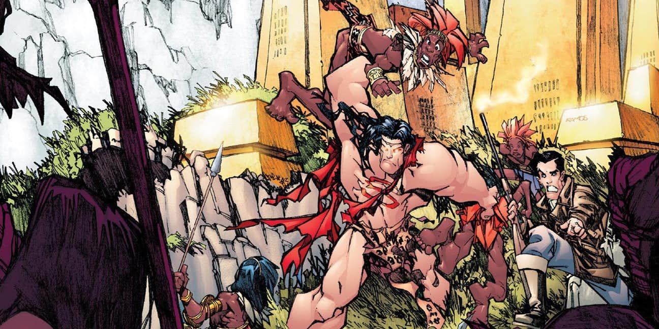 Resultado de imagen para Superman / Tarzan: