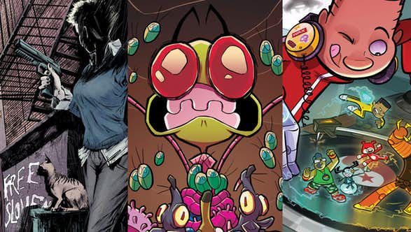 Oni Press Solicitations for January 2018