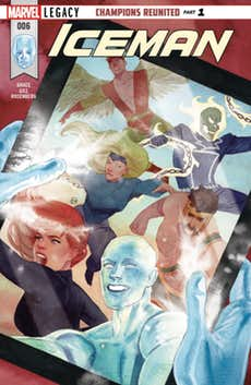 REVIEW: Iceman #6 Defines the Present by Revisiting the Past