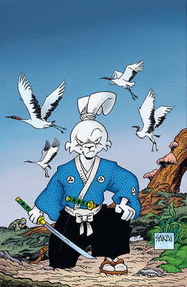 EXCLUSIVE: Usagi Yojimbo #163 (Preview)