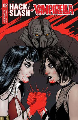 Hack/Slash vs Vampirella #2 (Preview)