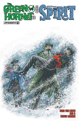 The Green Hornet '66 Meets The Spirit #5 (Preview)