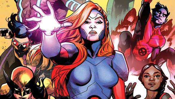 Marvel Releases X-Men Red Description, Teases One More 'Fan-Favorite' Member