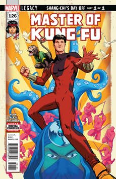 Master of Kung Fu #126 (Preview)