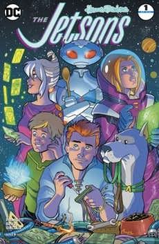 REVIEW: DC's The Jetsons #1 Confronts Climate Change, Existential Dread