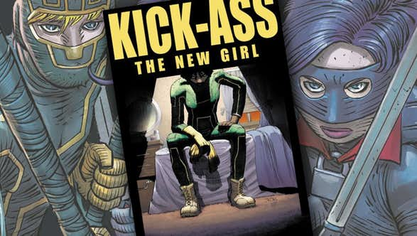 Millar's New Kick-Ass Is a Black, Female Military Veteran