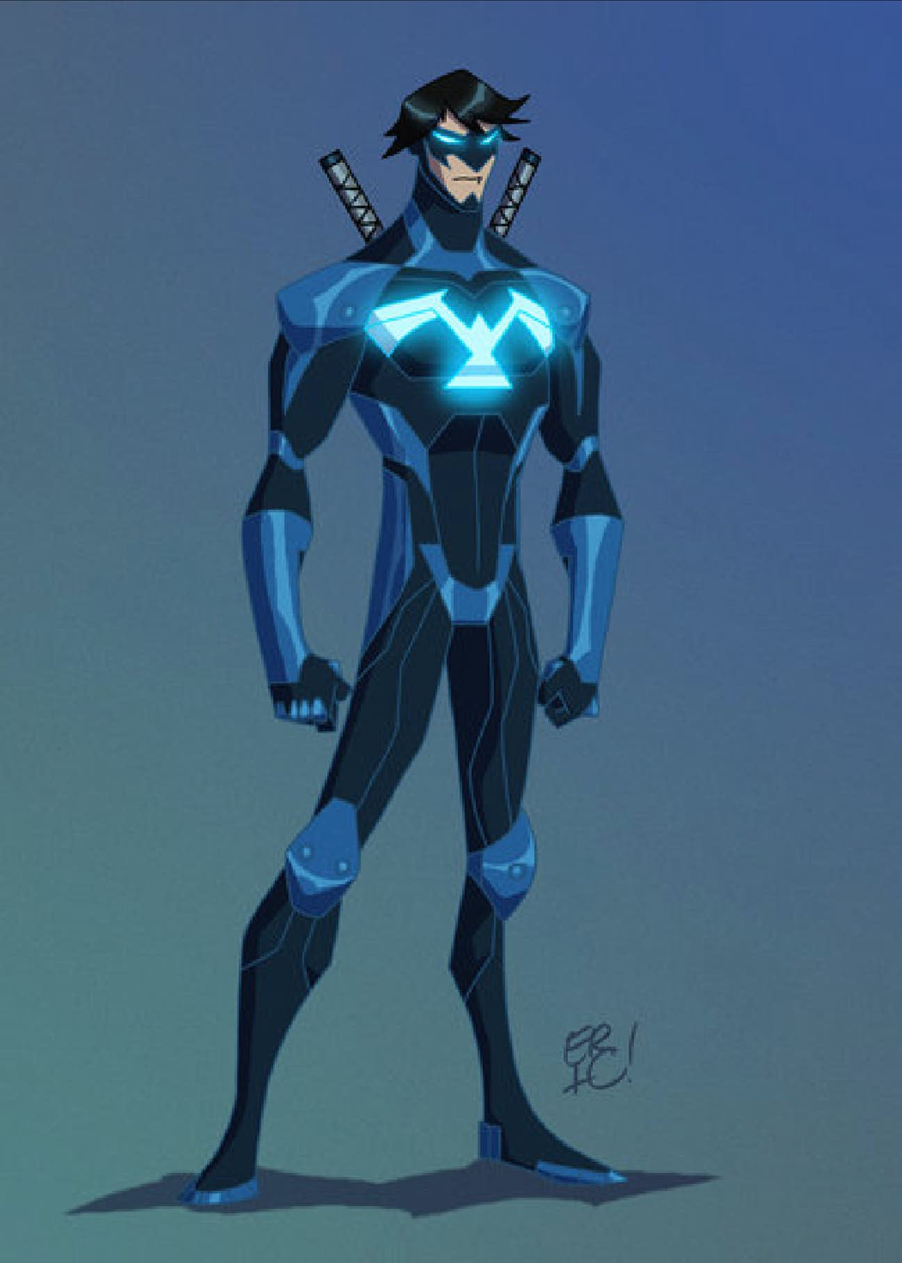 15 fan designed young justice uniforms way better than the show niadd - Pictures of nightwing from young justice ...