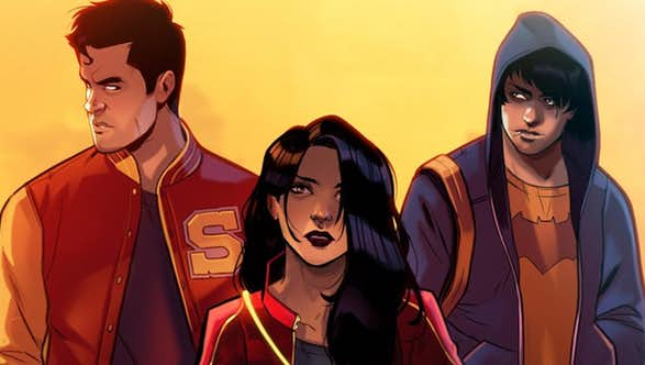 DC's Trinity Reimagined as Teenagers Is The Comic We Want To See