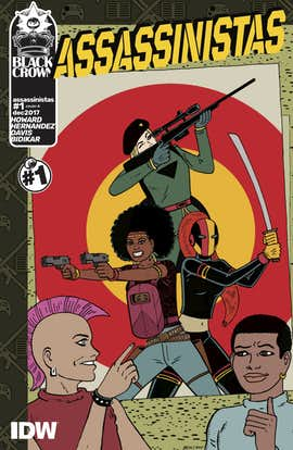 IDW's Assassinistas #1 Doesn't Tell the Story You Think It Would