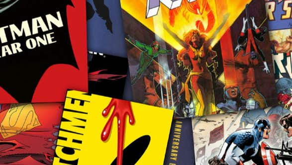 2017 Top 100 Comic Book Storylines Master List