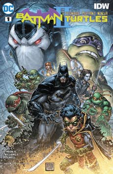 Batman/TMNT II #1 Brings out the Best in Both Franchises