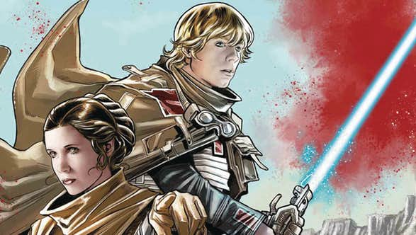 Star Wars: The Storms of Crait, X-Men: Blue & More Marvel Comics On Sale December 27, 2017