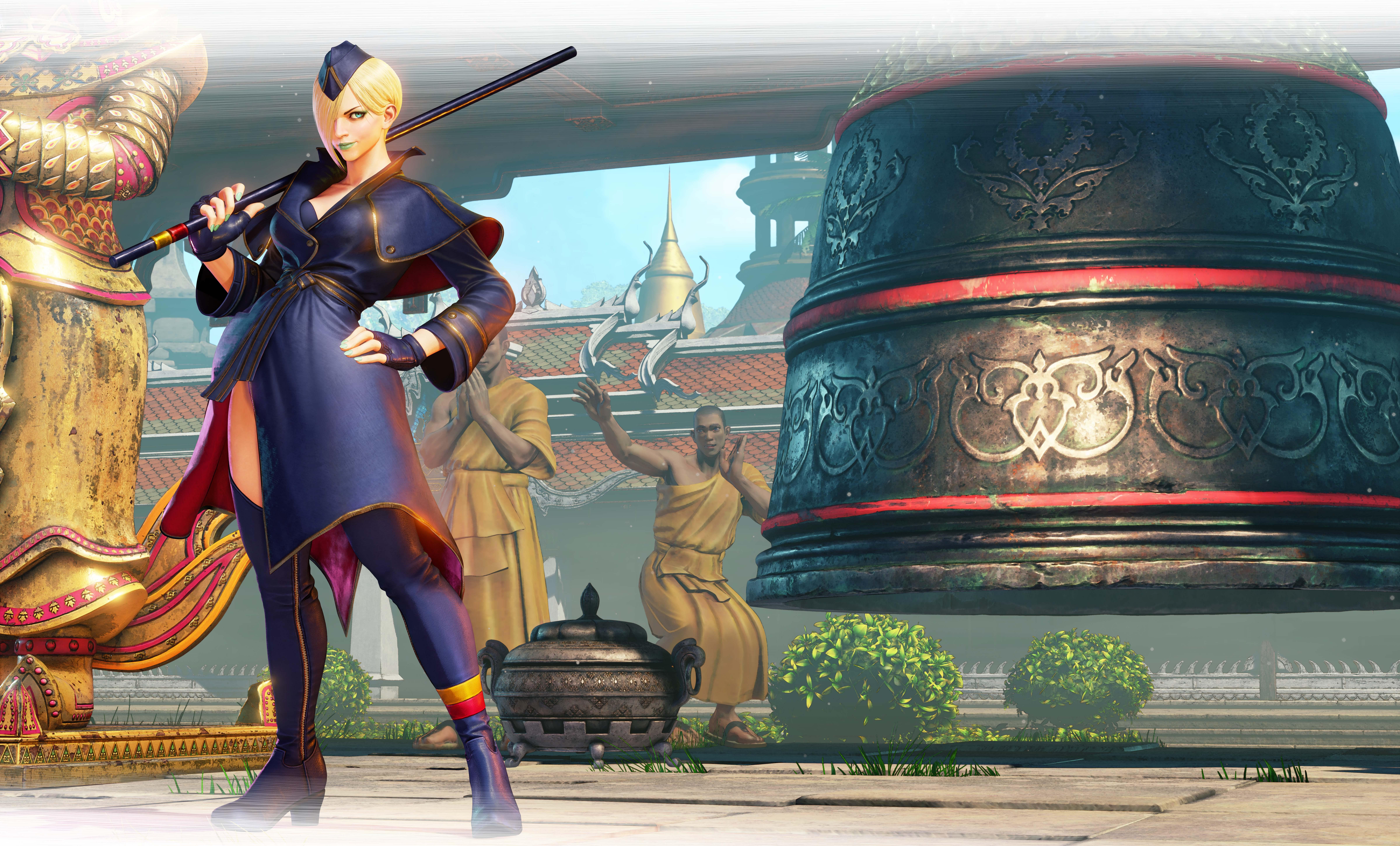 Street Fighter V: Arcade Editionsumará a Falke como personaje jugable el próximo 24 de abril