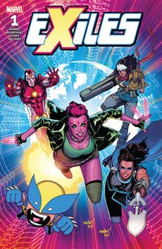 Exiles #1 Introduces Readers to (Most of) the Dimension-Hopping Team