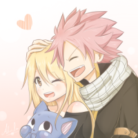 Nalu and happy 👻